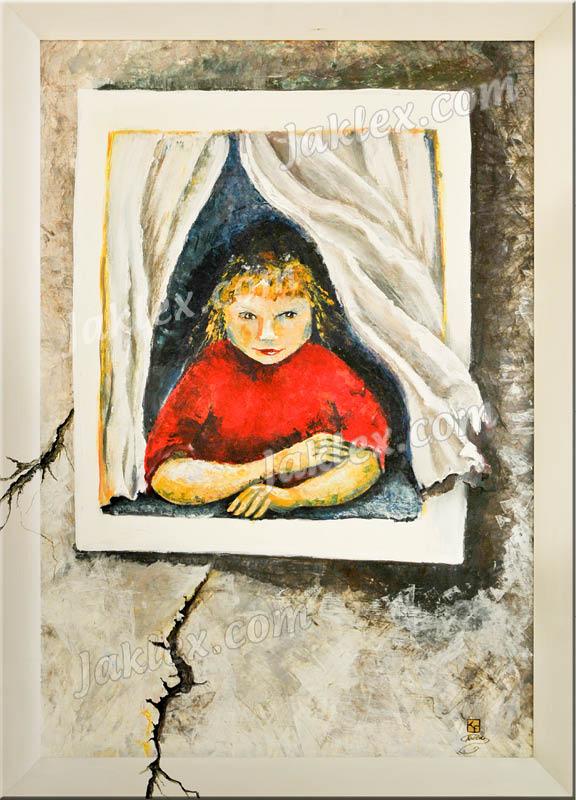Die Fensterguckerin - Elke Keitsch